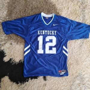 🏉 KENTUCKY WILDCATS AUTHENTIC Football Jersey MED